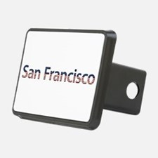 San Francisco Stars and Stripes Hitch Cover