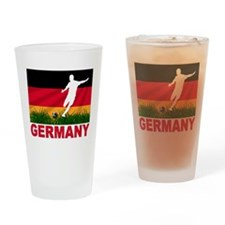 Germany World Cup Soccer Drinking Glass