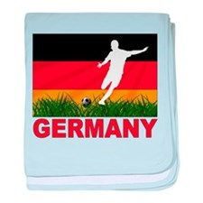 Germany World Cup Soccer baby blanket