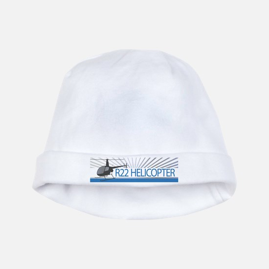 Aircraft R22 Helicopter baby hat