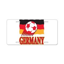 Germany World Cup Soccer Aluminum License Plate