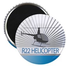 Aircraft R22 Helicopter Magnet