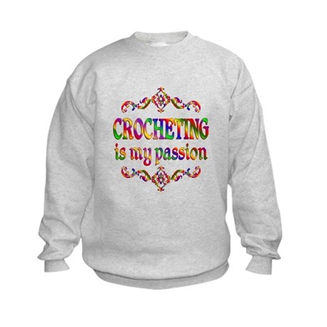 Crocheting Passion Kids Sweatshirt