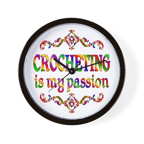 Crocheting Passion Wall Clock