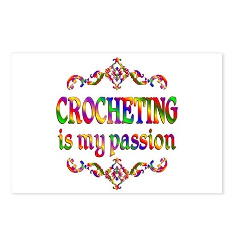 Crocheting Passion Postcards (Package of 8)