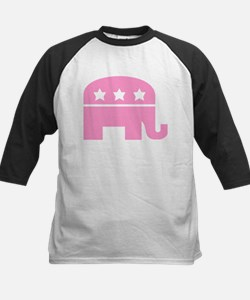 Republican Elephant Pink Tee