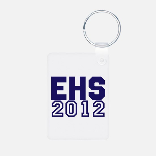 2012 Graduation Aluminum Photo Keychain