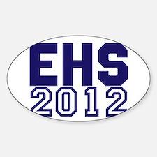 2012 Graduation Sticker (Oval)