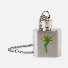 Unique Tinkerbell Flask Necklace