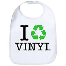 I Recycle Vinyl Bib