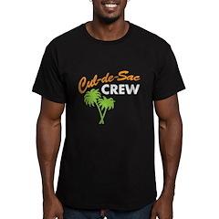 cul-de-sac crew Men's Fitted T-Shirt (dark)
