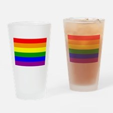 Gay Pride Drinking Glass