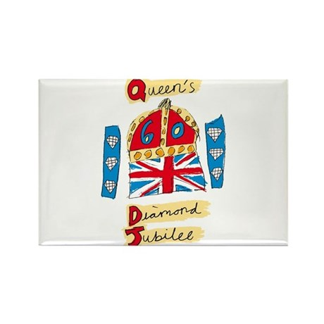 Official Diamond Jubilee Logo/Emblem Rectangle Mag