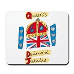 Official Diamond Jubilee Logo/Emblem Mousepad