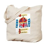 Official Diamond Jubilee Logo/Emblem Tote Bag