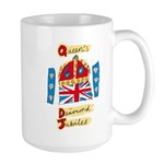 Official Diamond Jubilee Logo/Emblem Large Mug