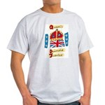 Official Diamond Jubilee Logo/Emblem Light T-Shirt