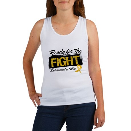 Ready Fight Appendix Cancer Women's Tank Top