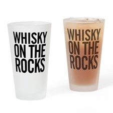 Whisky On The Rocks Drinking Glass