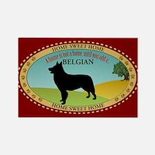Belgian Shepherd Rectangle Magnet