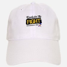Ready Fight Bladder Cancer Baseball Baseball Cap