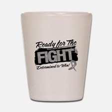 Ready Fight Brain Cancer Shot Glass
