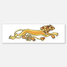 Celtic Lion Sticker (Bumper)