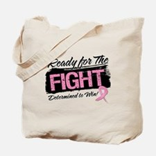 Ready Fight Breast Cancer Tote Bag