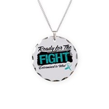 Ready Fight Cervical Cancer Necklace Circle Charm