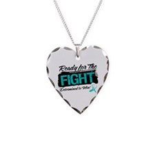 Ready Fight Cervical Cancer Necklace Heart Charm