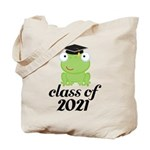 Class of 2021 Frog Tote Bag