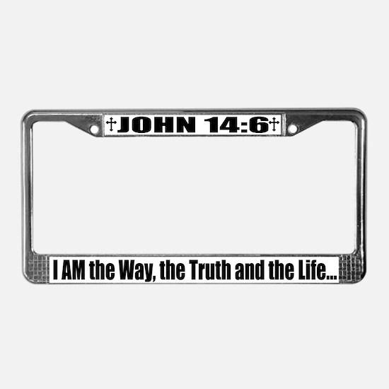 iambottom.jpg License Plate Frame
