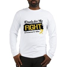 Ready Fight Childhood Cancer Long Sleeve T-Shirt