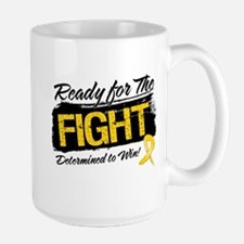 Ready Fight Childhood Cancer Mug