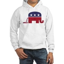 Elephant Pooing Donkey Hoodie