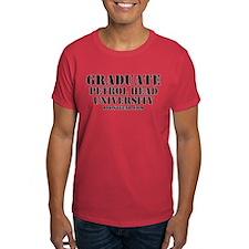 Graduate Petrol Head University BoostGear T-Shirt