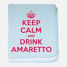 K C Drink Amaretto baby blanket