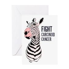 Flushing Zebra Greeting Card