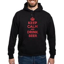 K C Drink Beer Hoodie