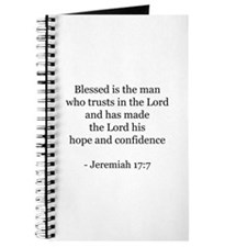 Jeremiah 17:7 Journal