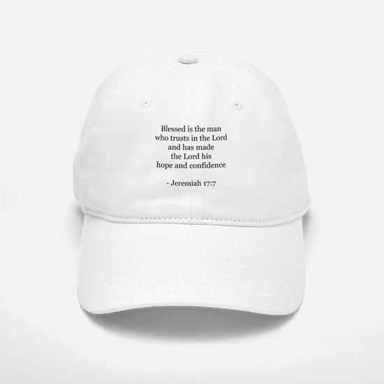 Jeremiah 17:7 Baseball Baseball Cap
