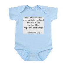 Jeremiah 17:7 Infant Creeper