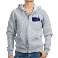 Ready Fight Colon Cancer Zip Hoodie
