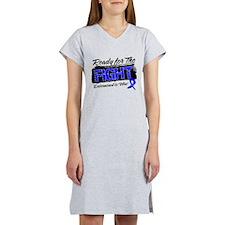 Ready Fight Colon Cancer Women's Nightshirt