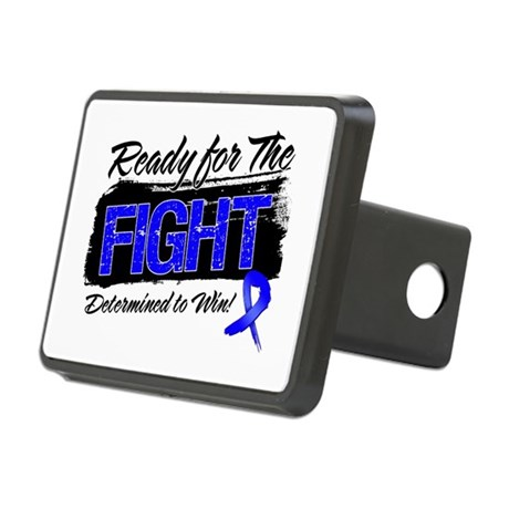Ready Fight Colon Cancer Rectangular Hitch Cover