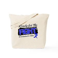 Ready Fight Colon Cancer Tote Bag
