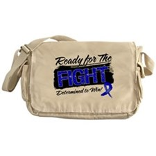 Ready Fight Colon Cancer Messenger Bag