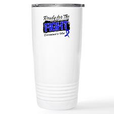 Ready Fight Colon Cancer Thermos Mug