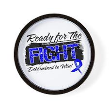 Ready Fight Colon Cancer Wall Clock