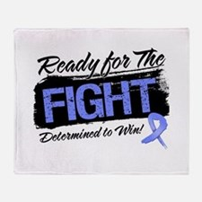 Ready Fight Esophageal Cancer Throw Blanket